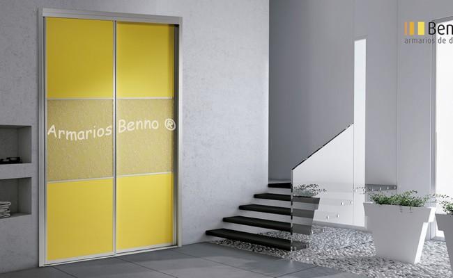 Serie Classic 100 – Perfil Plata Panel combinado tablero BennoCristal