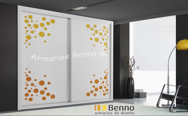 Serie Classic 103 – Perfil Blanco Panel Pantografiado