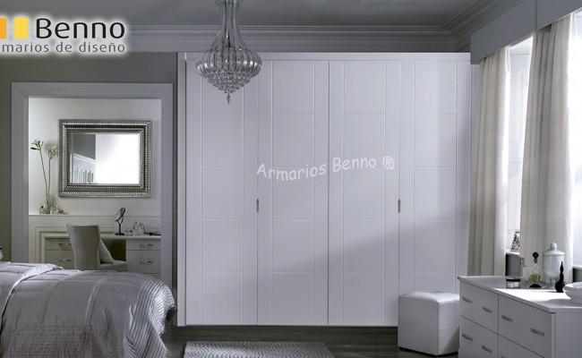 Serie Elegant 135 – Panel Pantografiado Lacado Blanco