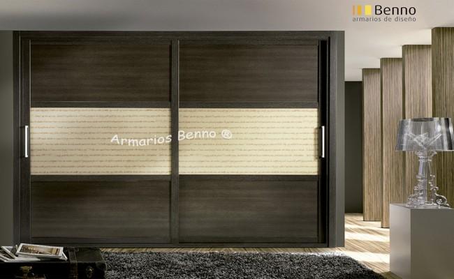 Serie Elite 127 – Perfil Melanina Wengue Paneles combinados cristal especial Literatto