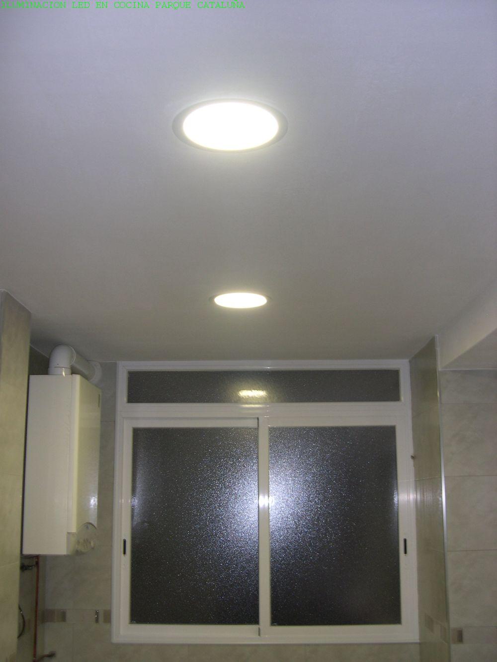 Reforma cocina piso parque catalu a refor go - Iluminacion de techo ...