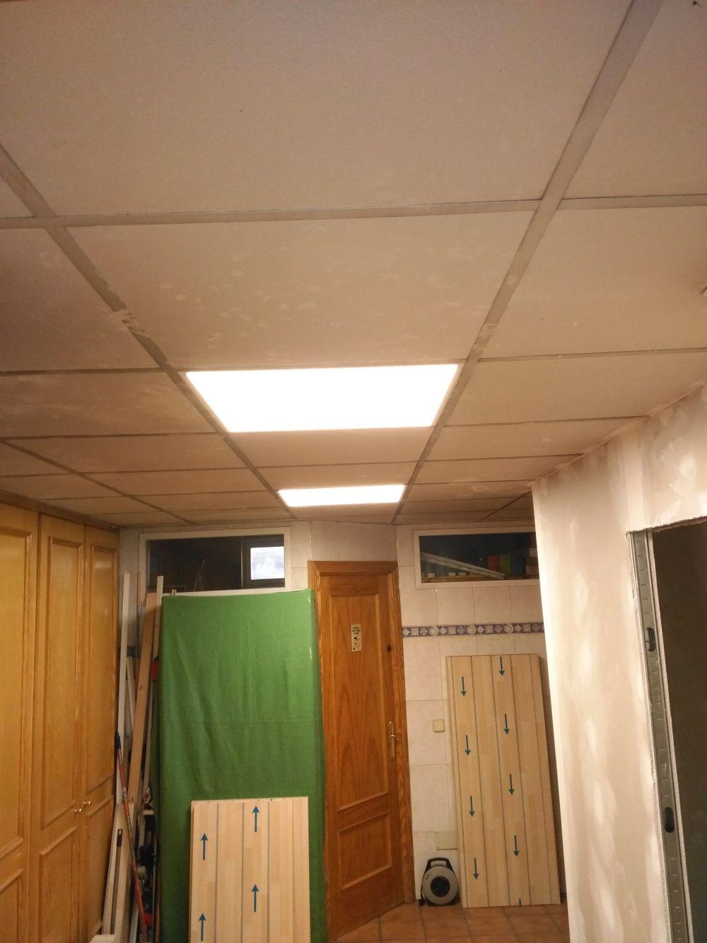 Reforma garaje y trabajos de pintura en piso de torrej n for Reformas torrejon de ardoz